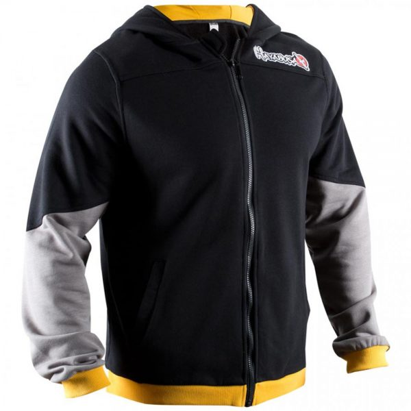 Олимпийка Hayabusa Wingback Hoodie Black/Grey/Yellow