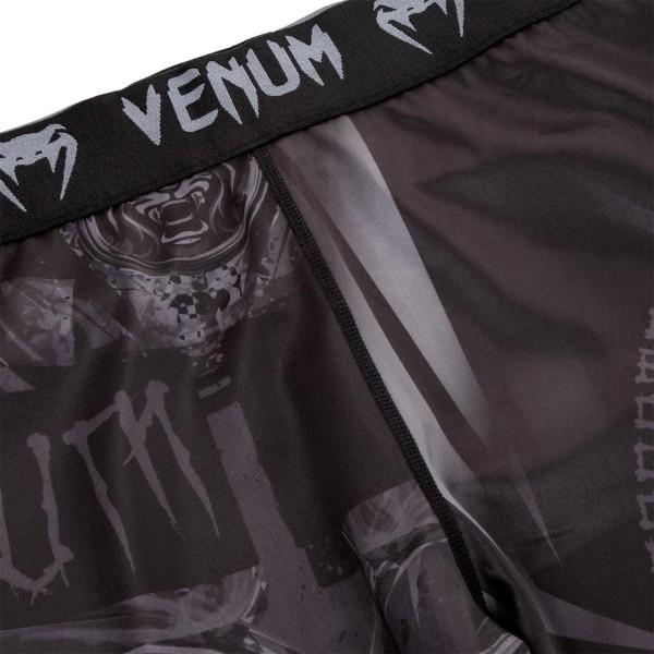 Компрессионные штаны Venum Gladiator Black/Black