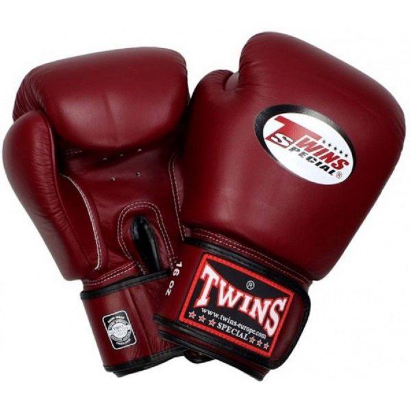 Перчатки боксерские Twins BGVL-3 Maroon Red