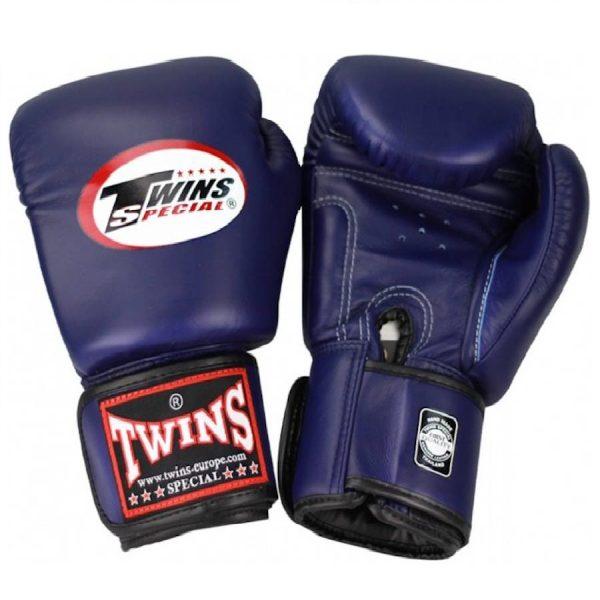 Перчатки боксерские Twins BGVL-3 Navy Blue