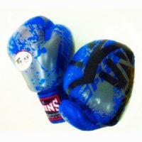 Перчатки боксерские Twins FBGV-38-Blue