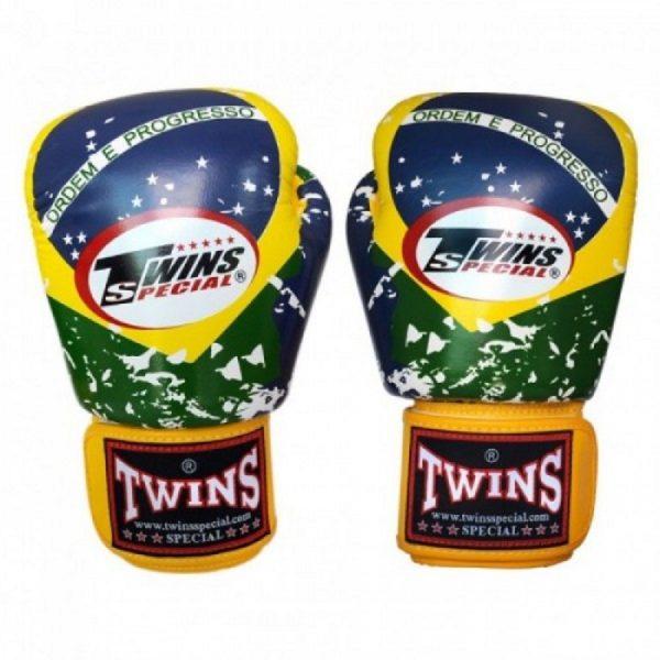 Перчатки боксерские Twins FBGV-44BZ