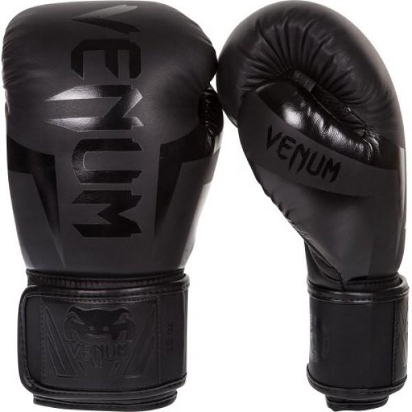 Боксерские перчатки Venum Elite Neo Black