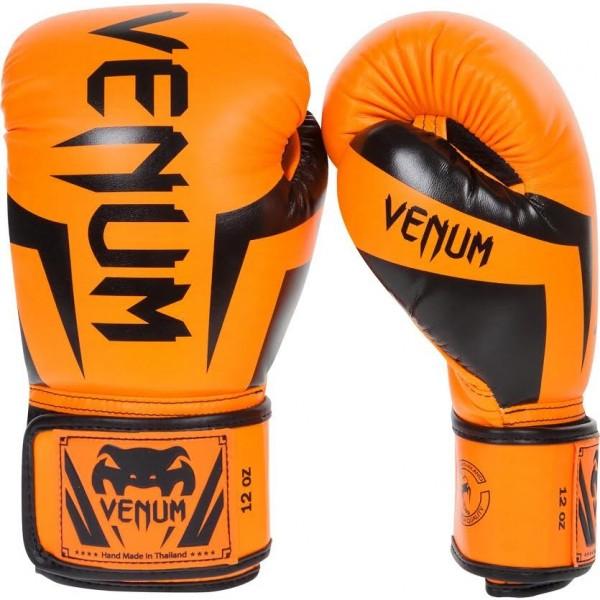Перчатки боксерские Venum Elite Neo Orange