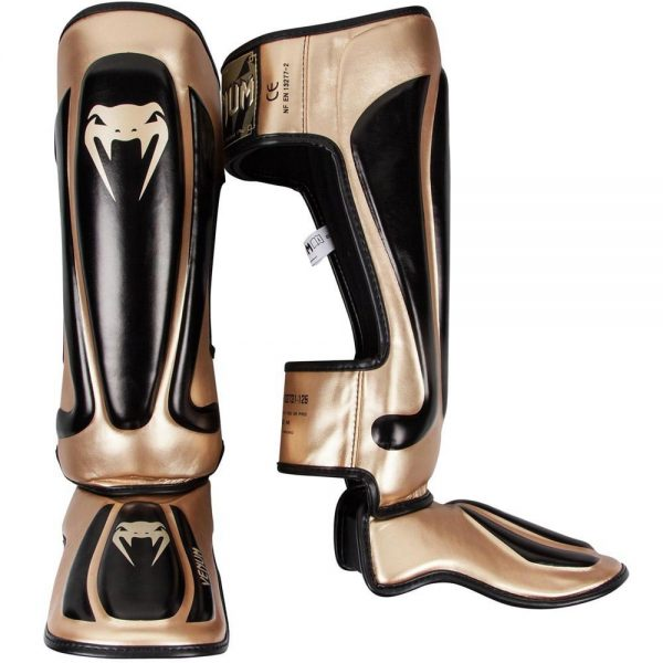 Щитки Venum Predator Black/Gold
