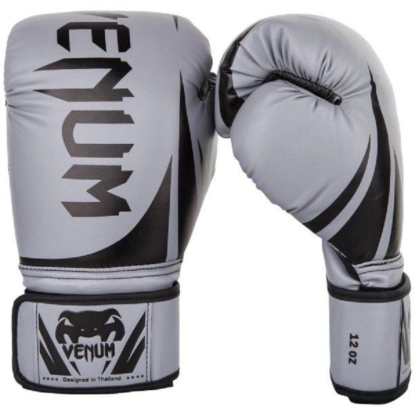 Перчатки боксерские Venum Challenger 2.0 Grey/Black