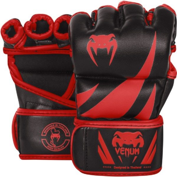 Перчатки ММА Venum Challenger Neo Black/Red
