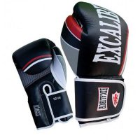 Перчатки боксерские Excalibur 8001-01 Black/White Buffalo