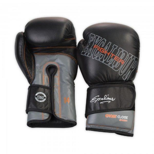 Перчатки боксерские Excalibur 529-07 Буйволиная кожа