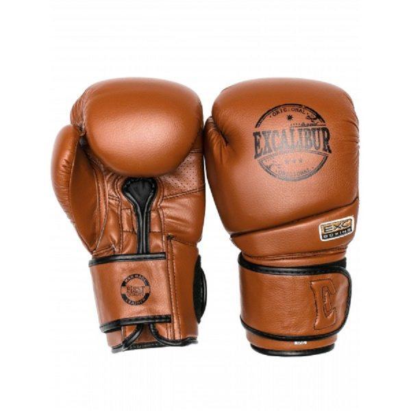 Перчатки боксерские Excalibur 8000-02 Brown PU