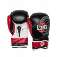 Перчатки боксерские Excalibur 8014-02 Black/Red/White PU
