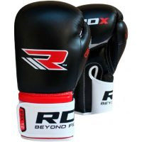 Перчатки боксерские RDX Rex Black