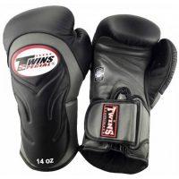 Перчатки боксерские Twins BGVL-6 Black/Grey