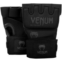 Гелевые бинты боксерские Venum Gel Kontact Black/Black