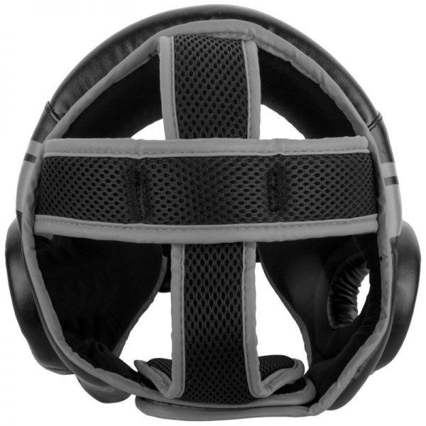 Шлем боксерский Venum Challenger 2.0 Open Face Neo Black/Grey