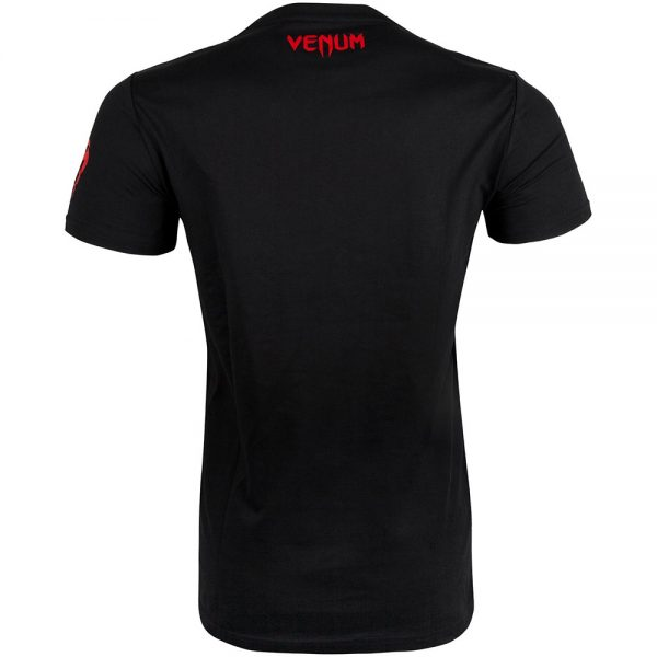 Футболка Venum Dragon's Flight Black/Red