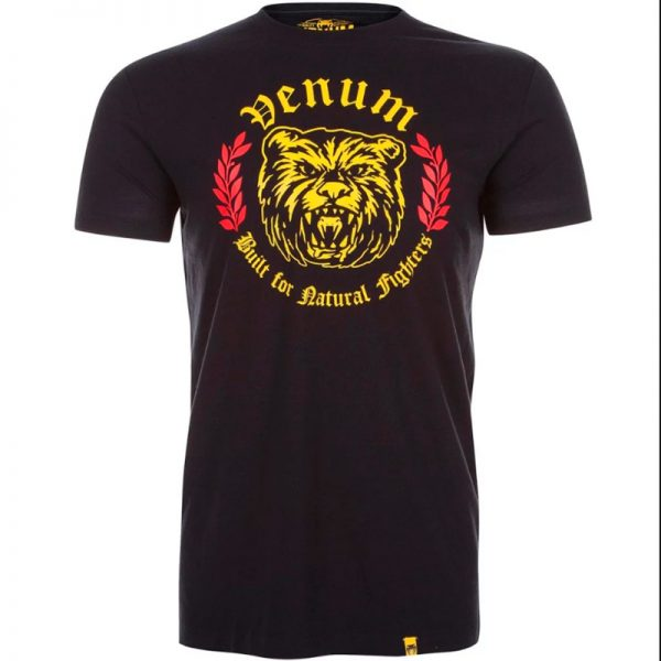 Футболка Venum Natural Fighter Bear - Black