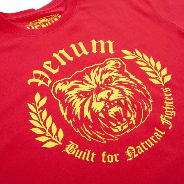 Футболка Venum Natural Fighter Bear - Red