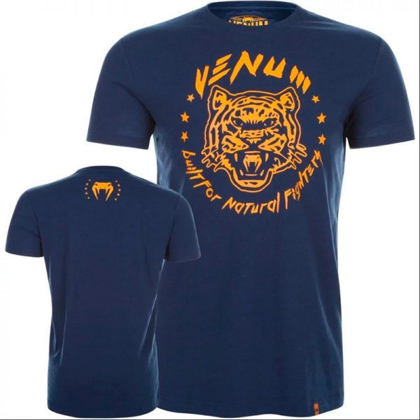 Футболка Venum Natural Fighter Tiger - Blue