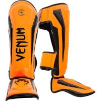 Щитки Venum Elite Neo Orange