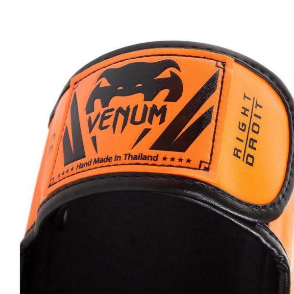 Щитки Venum Elite Neo Orange