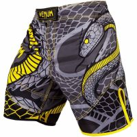 Шорты ММА Venum Snaker Black/Yellow