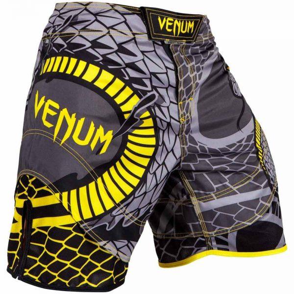Шорты ММА Venum Snaker Black/Yellow