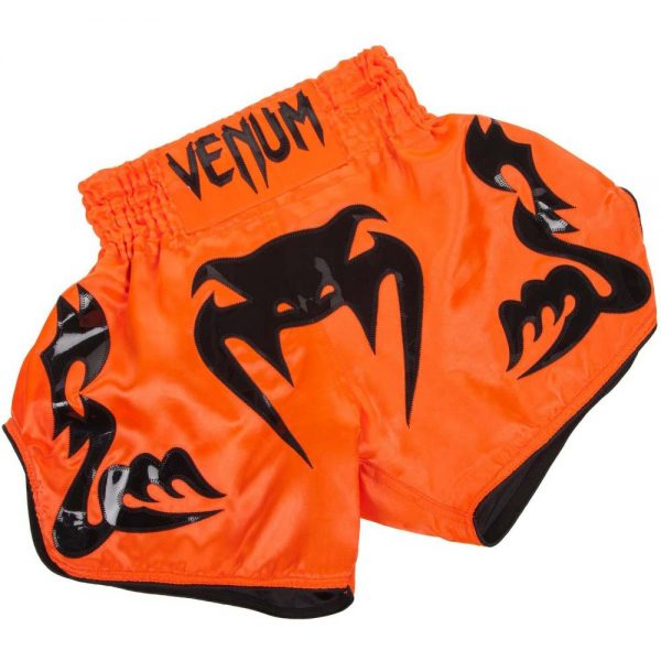 Шорты тайские Venum Bangkok Inferno Neo Orange