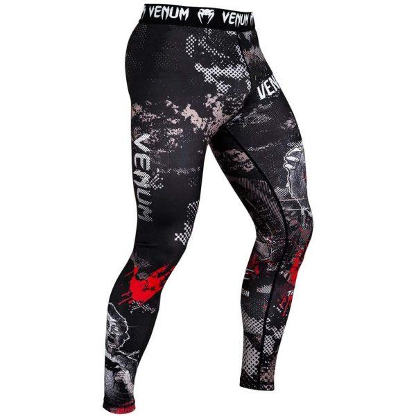 Компрессионные штаны Venum Zombie Return Black