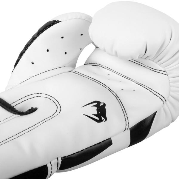 Боксерские перчатки Venum Elite White/Black