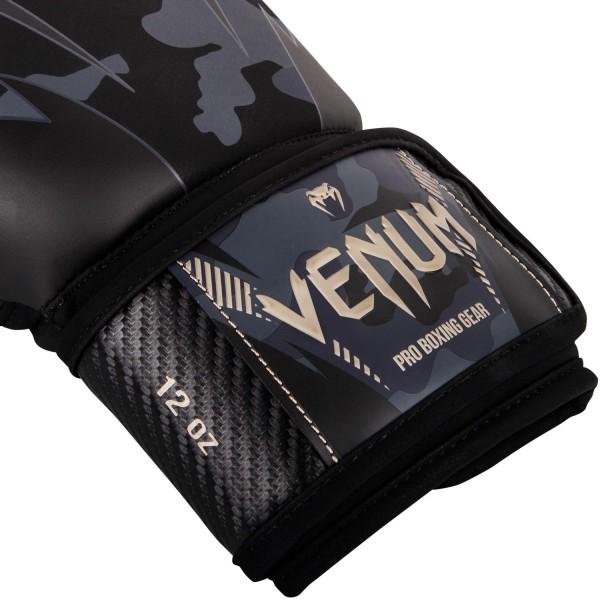 Боксерские перчатки Venum Impact Dark Camo/Sand