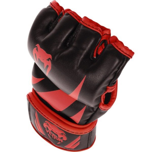 Перчатки ММА Venum Challenger Neo Black/Red