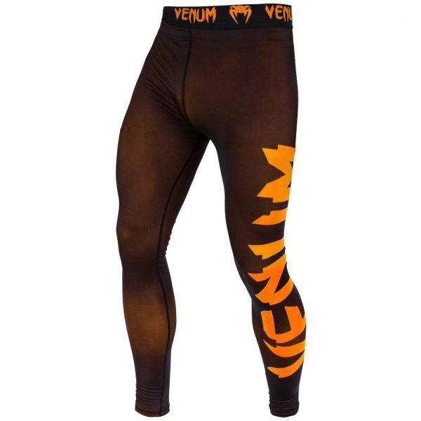Компрессионные штаны Venum Giant Black/Orange