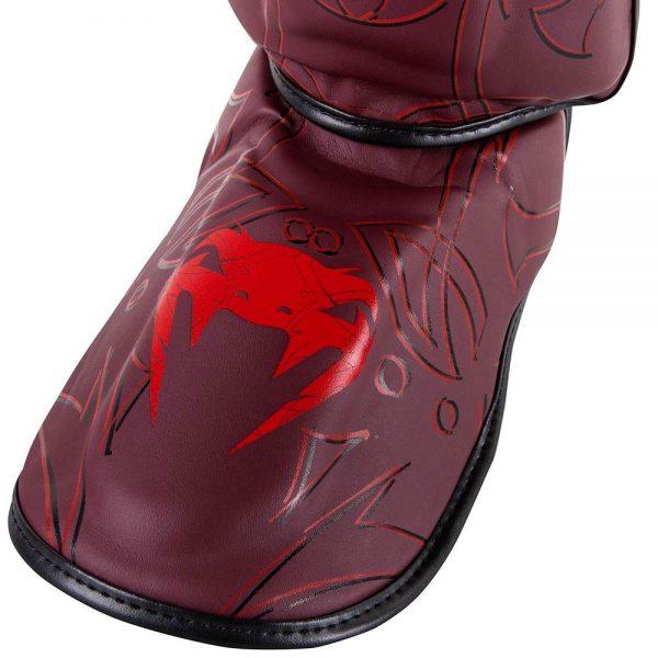 Щитки Venum Nightcrawler Red