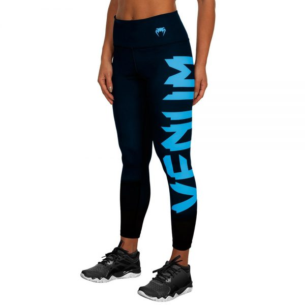Леггинсы Venum Giant Black/cyan