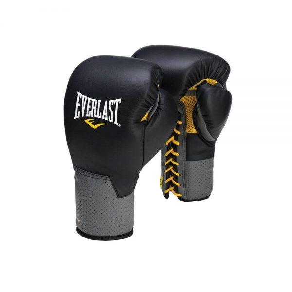 Перчатки тренировочные на шнуровке Pro Leather Laced EVERLAST