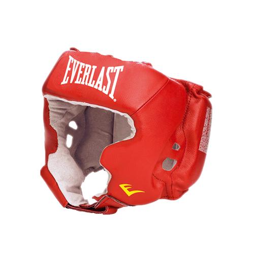 Шлем с защитой щек USA Boxing Cheek EVERLAST красный/синий/черный