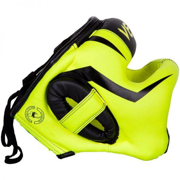 Шлем боксерский Venum Elite Iron Fluo Yellow