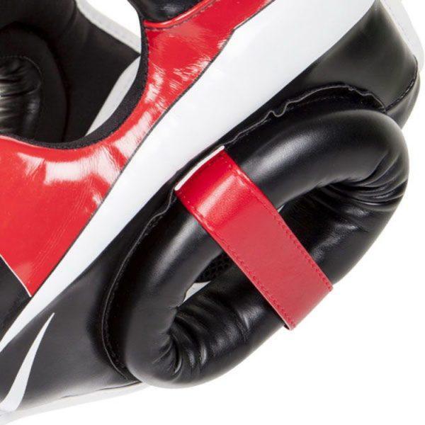 Шлем боксерский Venum Elite Black/Red/White