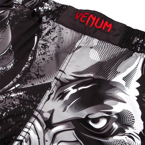 Шорты ММА Venum Werewolf Black/Grey