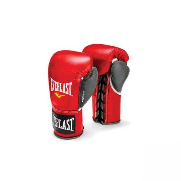 Перчатки боевые на шнуровке Powerlock EVERLAST
