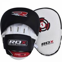 Лапы RDX White/Black With Strap