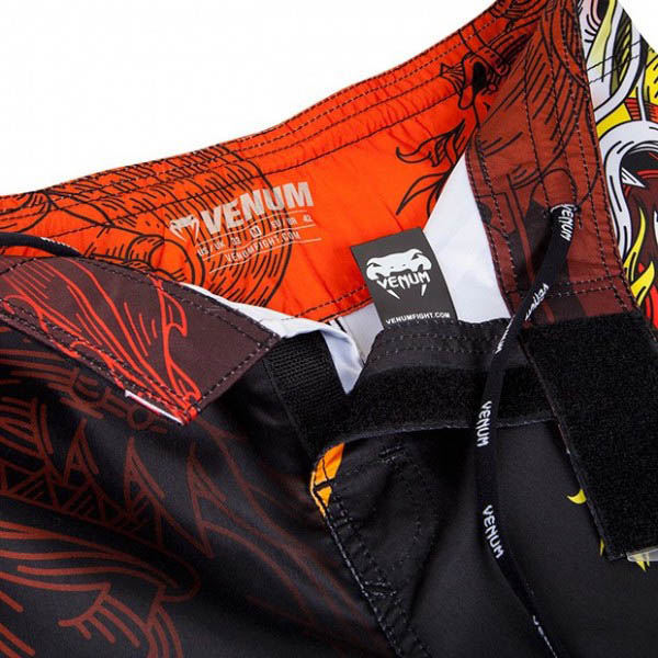 Шорты ММА Venum Lyoto Machida Tatsu King Black/Orange