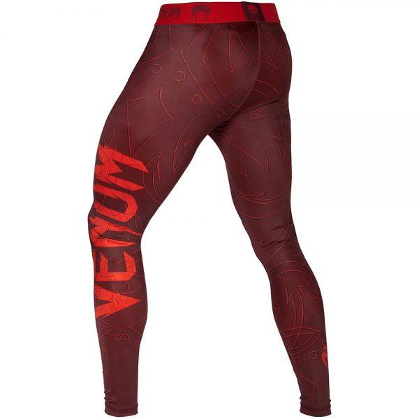 Компрессионные штаны Venum Nightcrawler Red