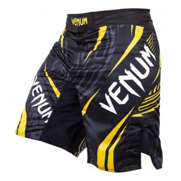 Шорты ММА Venum Lyoto Machida Ryujin Black/Yellow