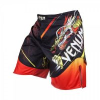 Шорты ММА Venum Lyoto Machida Tatsu King Black/Orange