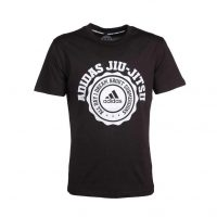 Футболка Leisure All Day Tee Jiu-Jitsu черная ADIDAS