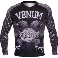 Рашгард Venum Black Eagle Fedor Signature L/S (тренировочная форма)