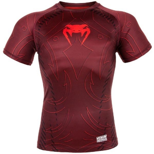 Рашгард Venum Nightcrawler Red S/S