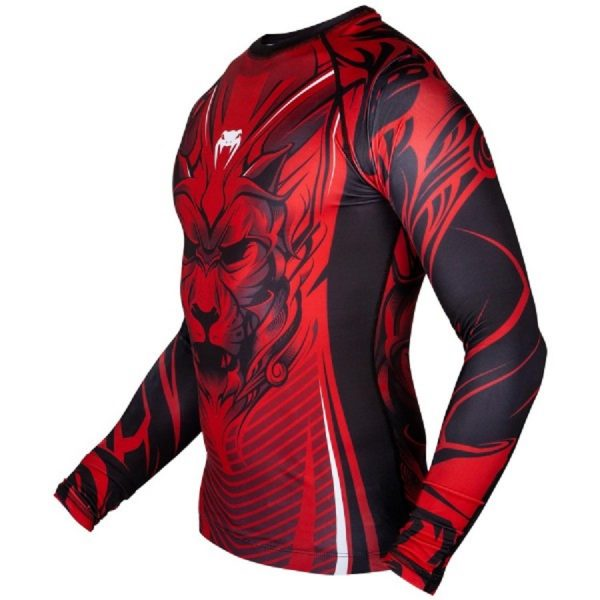 Рашгард Venum Bloody Roar Black/Red L/S